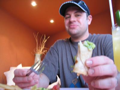 Mmmm...mini burritos