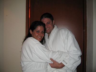 Hooray for robes.  Nighty night.