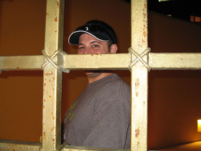 Pete in a Mexican jail.  Just kidding.