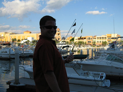On the Marina in Cabo