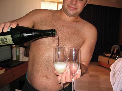 More champagne.