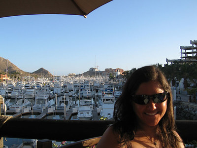 Sunset drinks at Margaritavilla