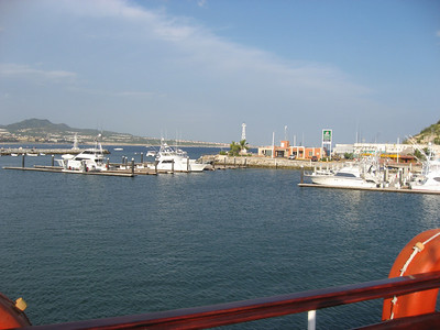 The marina and the view.