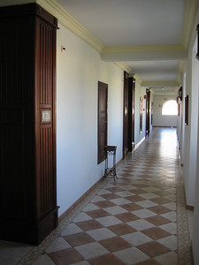 The hallway of our room.