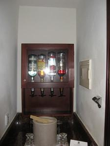 In room liquor.