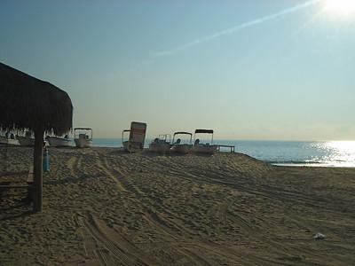 The local beach again.