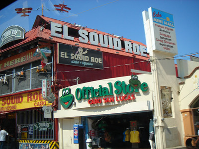 Famous bar in Cabo San Lucas.