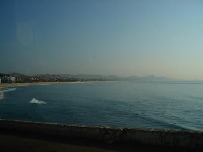 Sometimes it was a calm, glassy sea.
