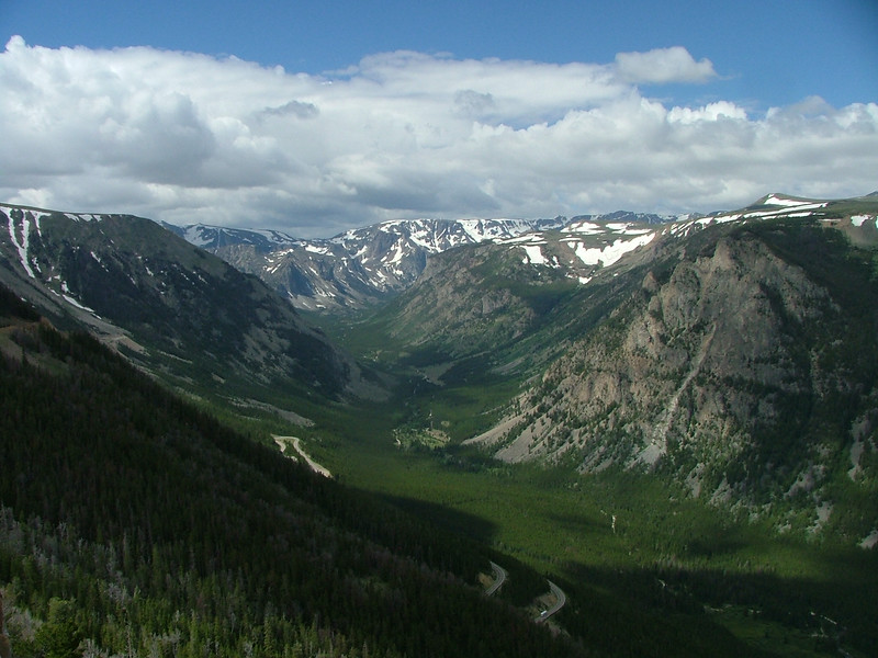 Another view from the Montana side of Beartooth Pass