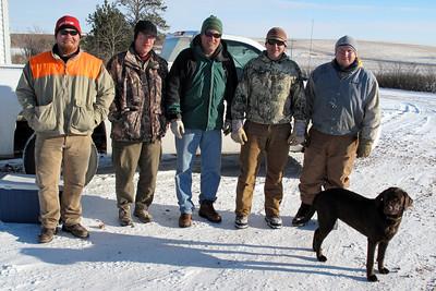 Dec. 11, 2010 Brian, Anthony, Matt, Mark & Chad