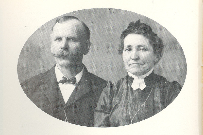 Josepheus Raneus & Mary Eve (BRICKEL) Boyer<br /> <br /> Josepheus b. 5 Jan 1855, Harmony, Pennsylvania; d. 1937<br /> Mary b. 4 Nov. 1854, Luxemburg, Byron, Germany, d. 1938<br /> <br /> Josepheus was a carpenter by trade, having been a foreman for a large construction company which necessitated a great many moves. He even went to Klondike, Alaska, during the days of the Gold Rush. There, the family traveled by dog sleds. <br /> <br /> The Boyers decided to settle down with their large family and homesteaded in Golden Valley County, North Dakota. In 1903, Mr. Boyer arrived in Sentinel Butte with four of his children:  Cora, Mata, Lawrence, and Ervie.<br /> <br /> ~  ~  ~  ~  ~<br /> <br /> Additional info from Ancestry.com on J.R. Boyer:<br /> •  Birth: 5 JAN 1855 in Pennsylvania <br /> •  Death: 25 MAR 1937  <br /> •  Census: 1860 Lancaster, Butler Co., Pennsylvania <br /> •  Census: 1870 Lancaster, Butler Co., Pennsylvania <br /> •  Census: 1880 Akron, Summit Co., Ohio <br /> •  Census: 1900 Ottawa, LaSalle Co., Illinois <br /> •  Census: 1910 Beach, Billings Co., North Dakota <br /> •  Census: 1920 Beach, Golden Valley, North Dakota <br /> <br /> Additional info from Ancestry.com on Eva Mae (BRICKLE) Boyer:<br /> Birth: 4 NOV 1854 in Prussia/Germany<br /> Death: 12 MAY 1938 <br /> Census: 1880 Akron, Summit Co., Ohio<br /> Census: 1900 Ottawa, LaSalle Co., Illinois<br /> Census: 1910 Beach, Billings Co., North Dakota<br /> Census: 1920 Beach, Golden Valley, North Dakota<br /> Immigration: 1856 <br /> <br /> Married: 1876<br /> The 1900 Census, taken while the family was living in Ottawa, LaSalle Co., Illinois, lists Mary as the mother of 11 children, nine living:<br /> 1. Ernest BOYER<br /> 2. Kenneth BOYER<br /> 3. Lillian\Lillie May BOYER b: 28 MAY 1880 in Ohio<br /> 4. William Ervie BOYER b: 3 SEP 1881 in Ohio; d. 1956, Illinois<br /> 5. Cora Katie BOYER b: 2 JAN 1883 in Ohio; <br /> 6. Lawrence BOYER b: 3 SEP 1884 in Ohio; d. 25 JAN 1969 <br /> 7. Mata BOYER