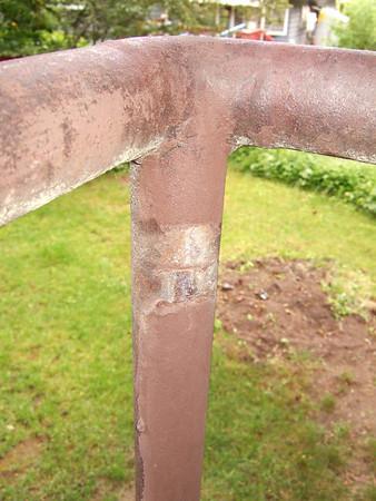 Back Deck Railing Upgrade '06
