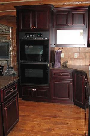 Installing kitchen cabinets June 12, 2009
