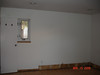 Master bedroom wall with paddings removed