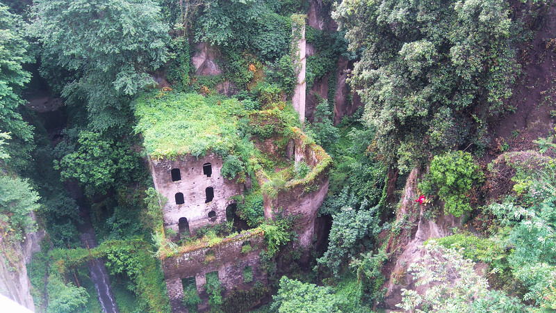 The abandoned mill in Sorrento, Italy