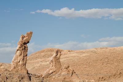 Las Tres Marias - The Three Maries, Valle de la Luna - Moon Valley, Atacama Desert, Chile