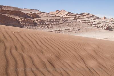 Valle de la Luna - Moon Valley, Atacama Desert, Chile