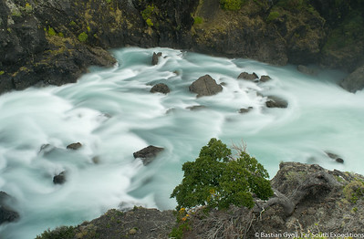 Rapids at Paine River, Torres del Paine, Chile © Bastian Gygli, Far South Exp