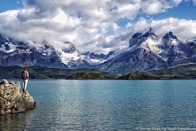 The Paine Massif, Torres del Paine NP, Chile © Bastian Gygli, Far South Exp
