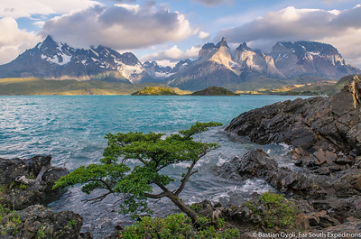 The Paine Massif, Torres del Paine, Chile © Bastian Gygli, Far South Exp