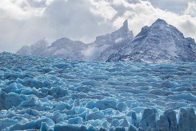Grey Glacier, Torres del Paine National Park, Patagonia, Chile © Claudio F. Vidal, Far South Exp