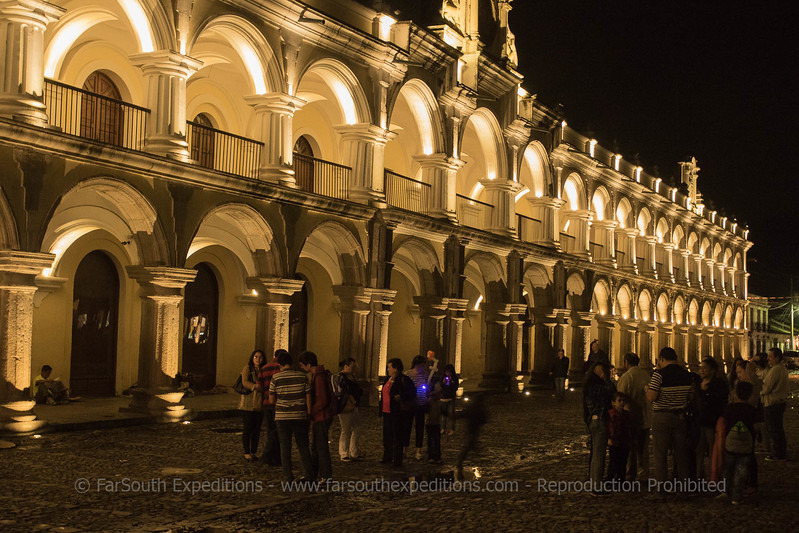 Main square of Antigua, Guatemala