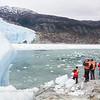 Landing at Brujo Glacier