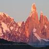 Dawn at Cerro Torre, Los Glaciares National Park, Argentina