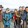One of our photo groups while visiting Tierra del Fuego, Chile for King Penguins