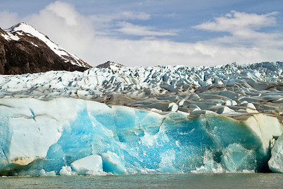 Grey Glacier, Torres del Paine National Park, Patagonia, Chile