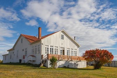 Main house at Estancia Cerro Negro, Chilean Patagonia