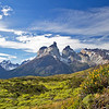 Paine Massif, Torres del Paine National Park, Magallanes, Patagonia, Chile