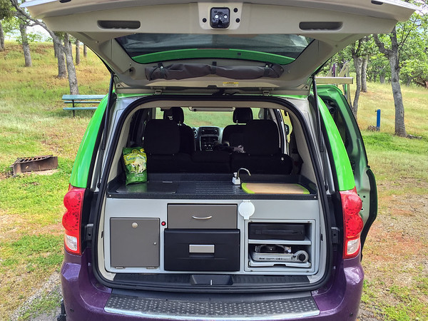 Inside our Jucy campervan | How to plan a roadtrip with Jucy rentals