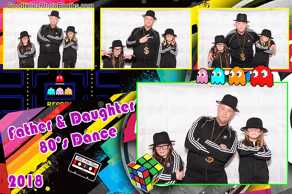 Father and Daughter 80's Dance 2018