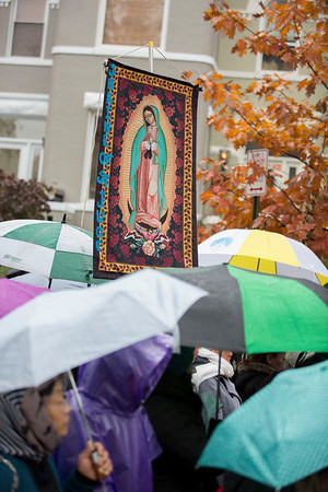 Our Lady of Guadalupe Procession - Walk with Mary