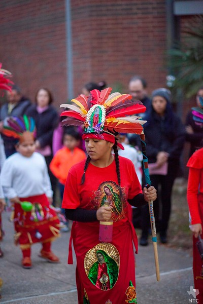 Our Lady of Guadalupe celebration at St. Michael Parish in Bedford, 2018
