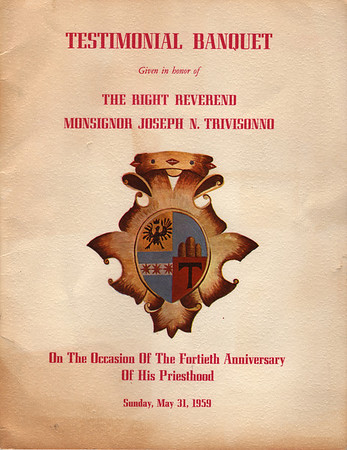 1964 Trivisonno Anniversary Program