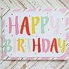 Happy Birthday Gold Accents