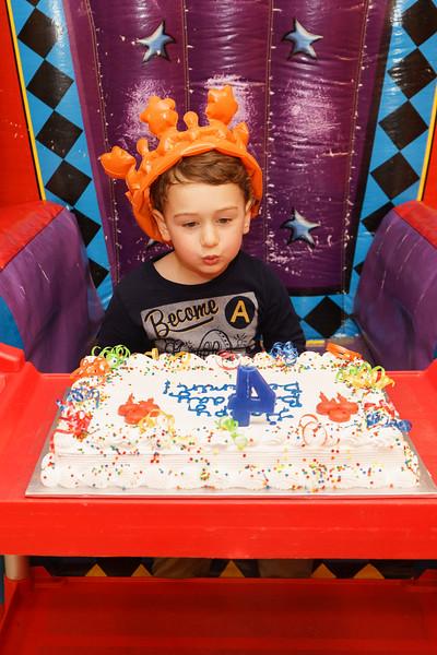 Benjamin 4th Birthday