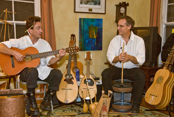 Musicantica Performs House Concert