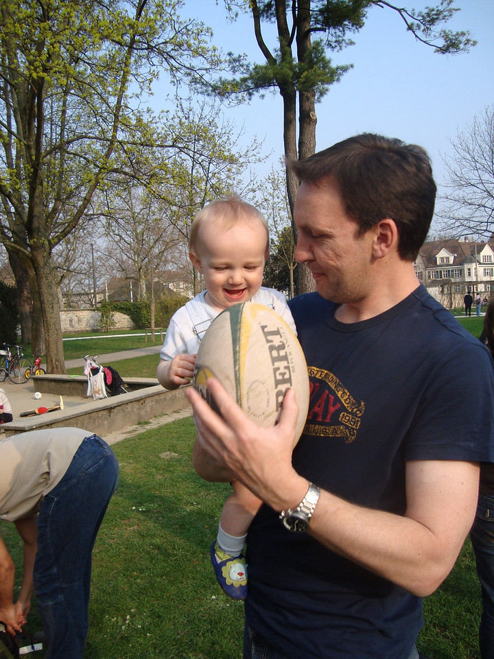 035 Rugby Ball Fun