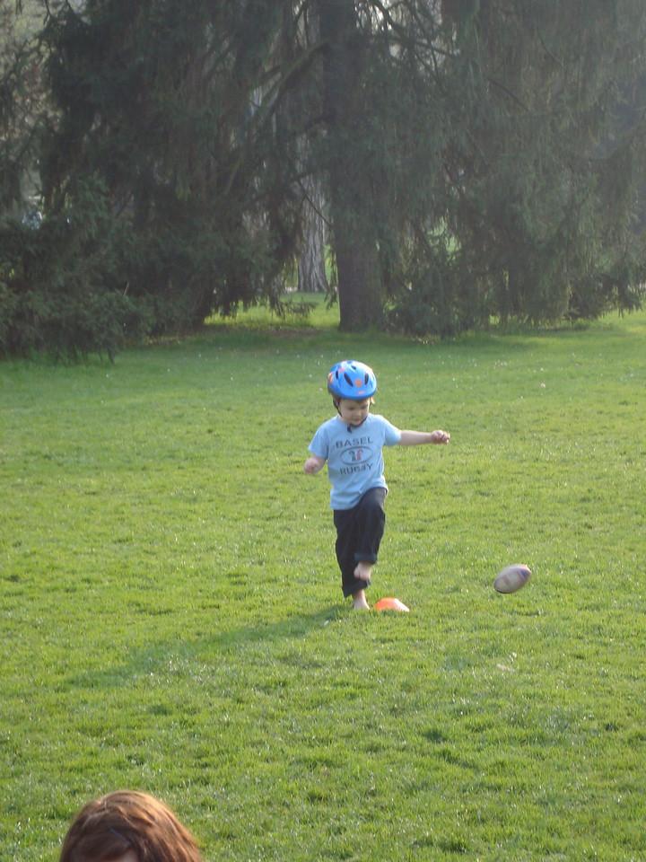 Big kick!