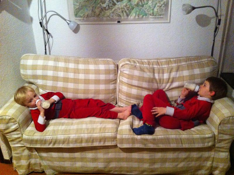 Tired Santas
