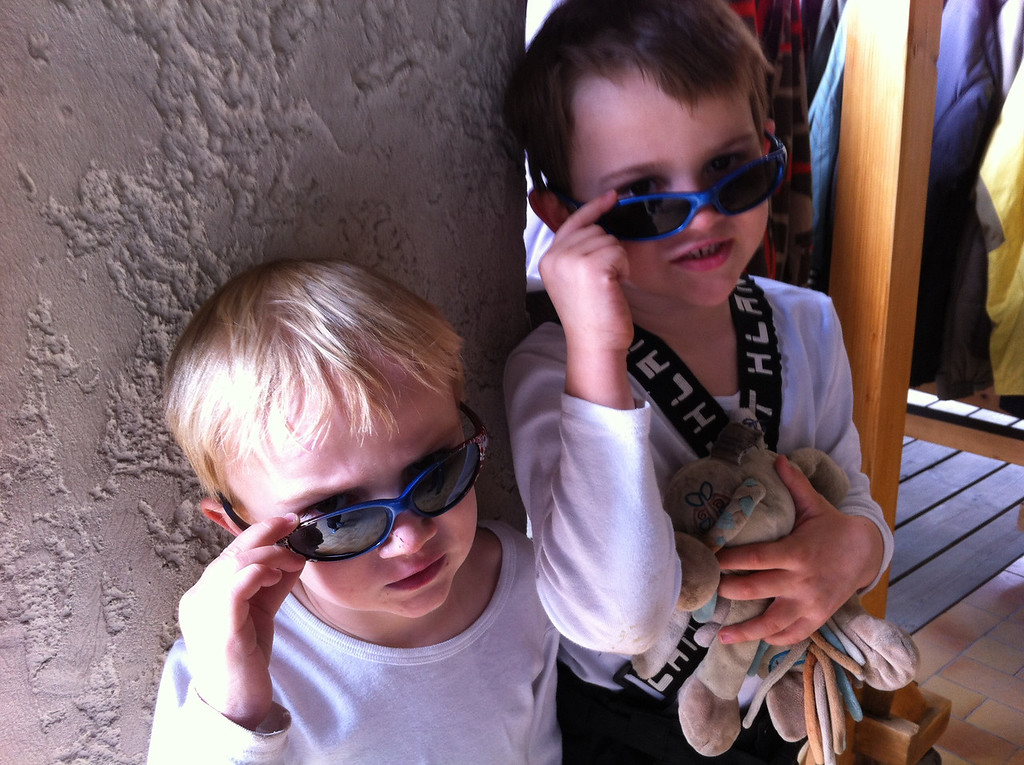 Cool dudes needed new shades or as Danny calls them 'sun-shades'