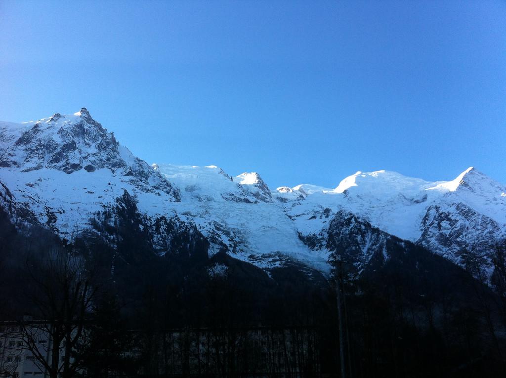 We spent Easter weekend in Chamonix - always spectacular