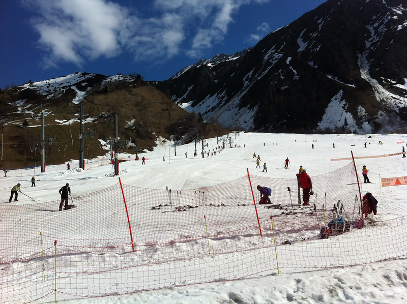 We tried Les Vormaines for skiing with the boys - it was great