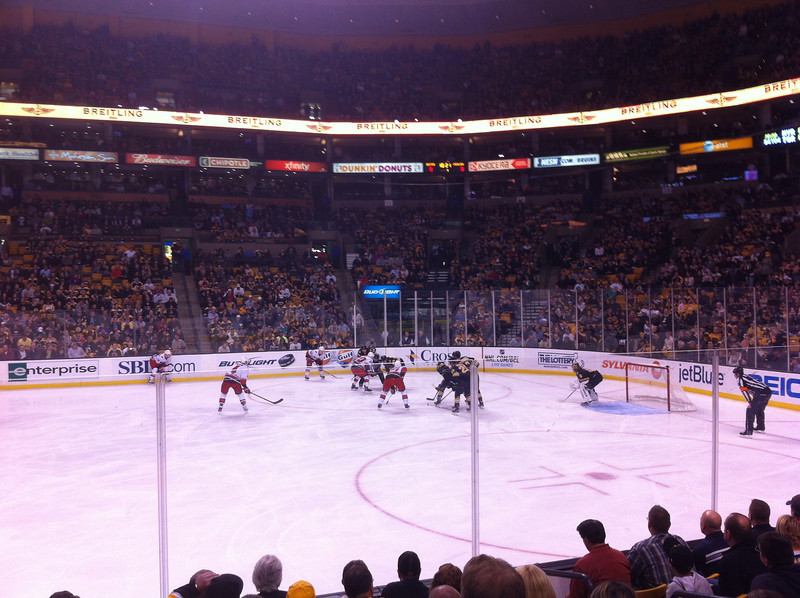 During one of my Boston work trips, I got to watch a Bruins game which was *awesome*