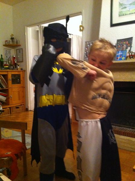 004 Batman v  Rey Mysterio