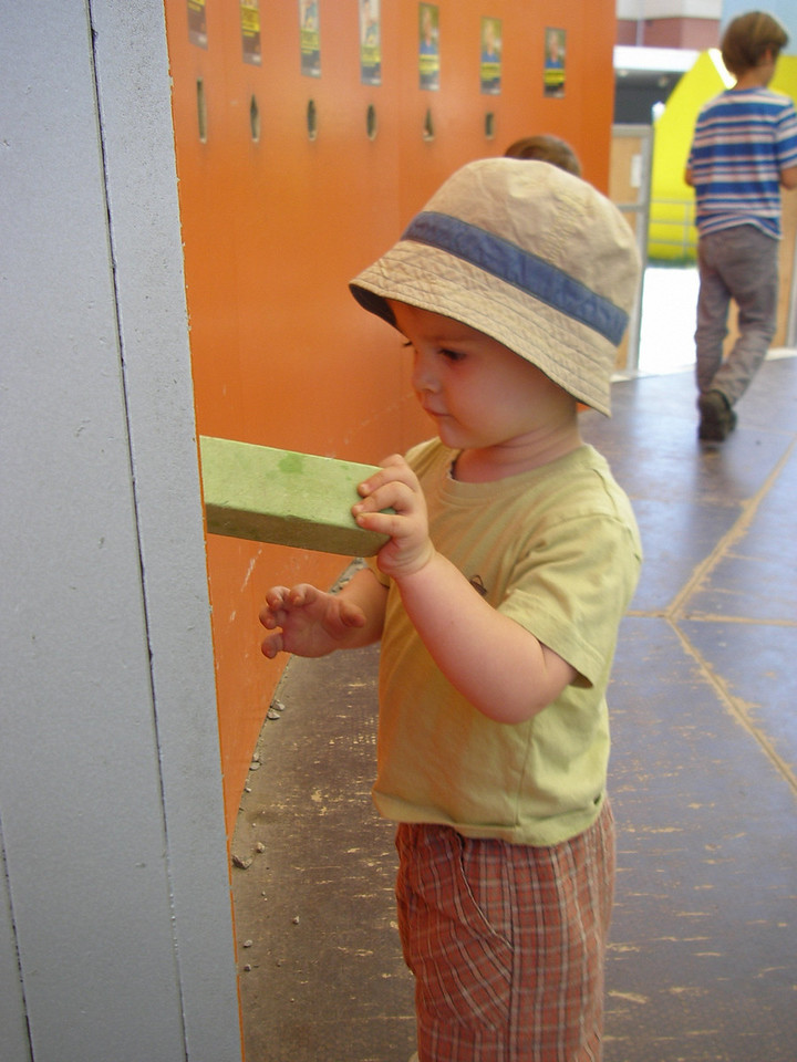 """The """"Kids Cargo"""" playground at the museum was fantastic"""
