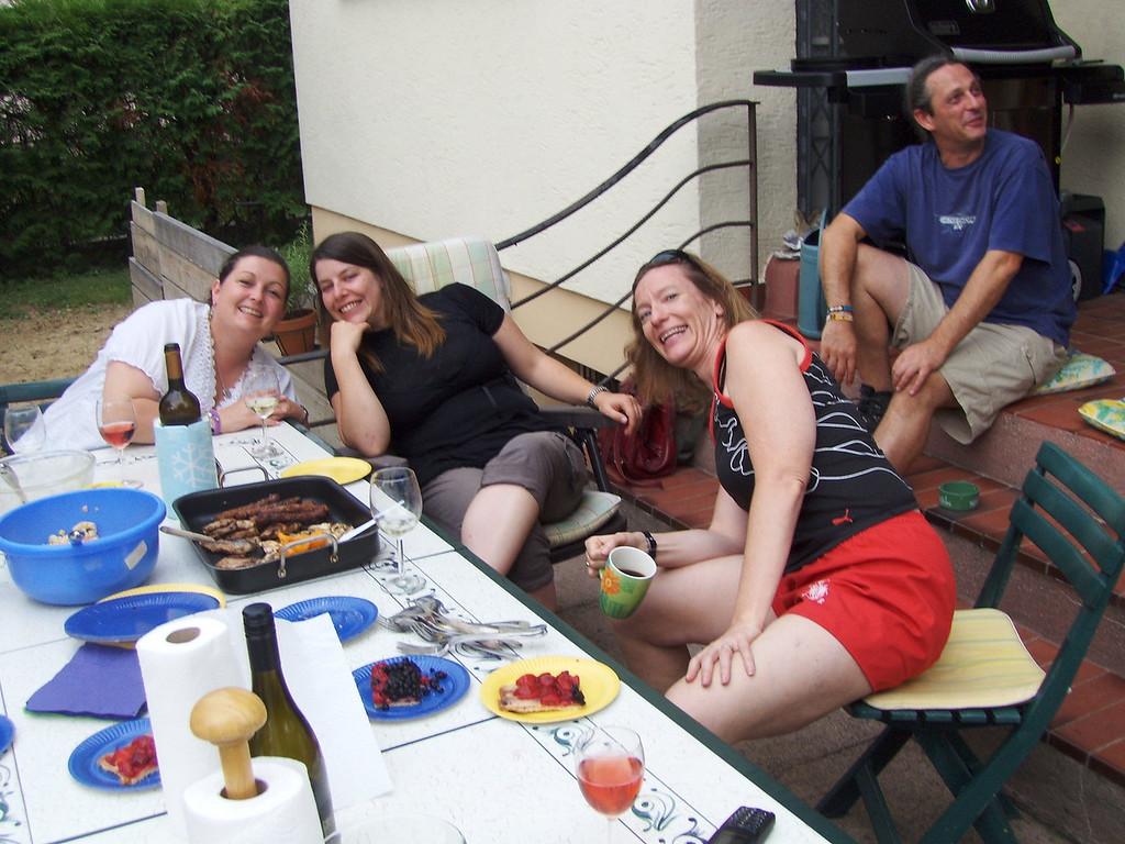 The girlies: Fiona, Mirjam & Sue